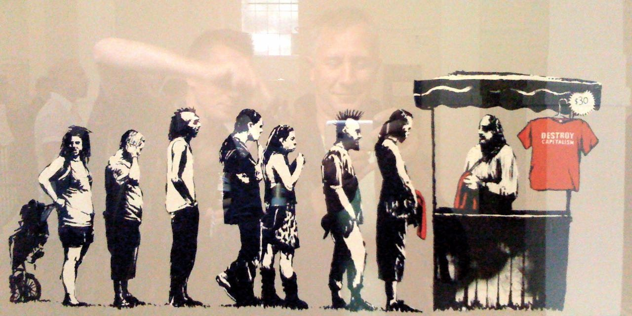 Street Art with a voice…