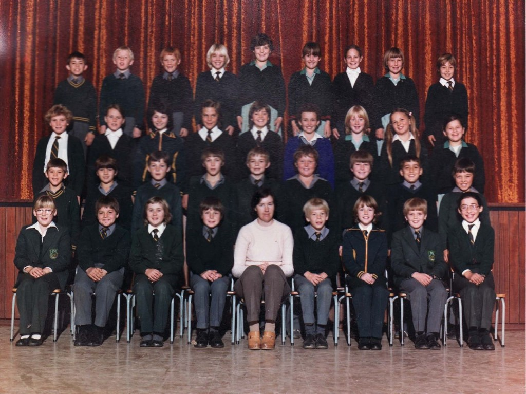 Putfontein Primary 1983. I'm the one with the super-long pigtails.