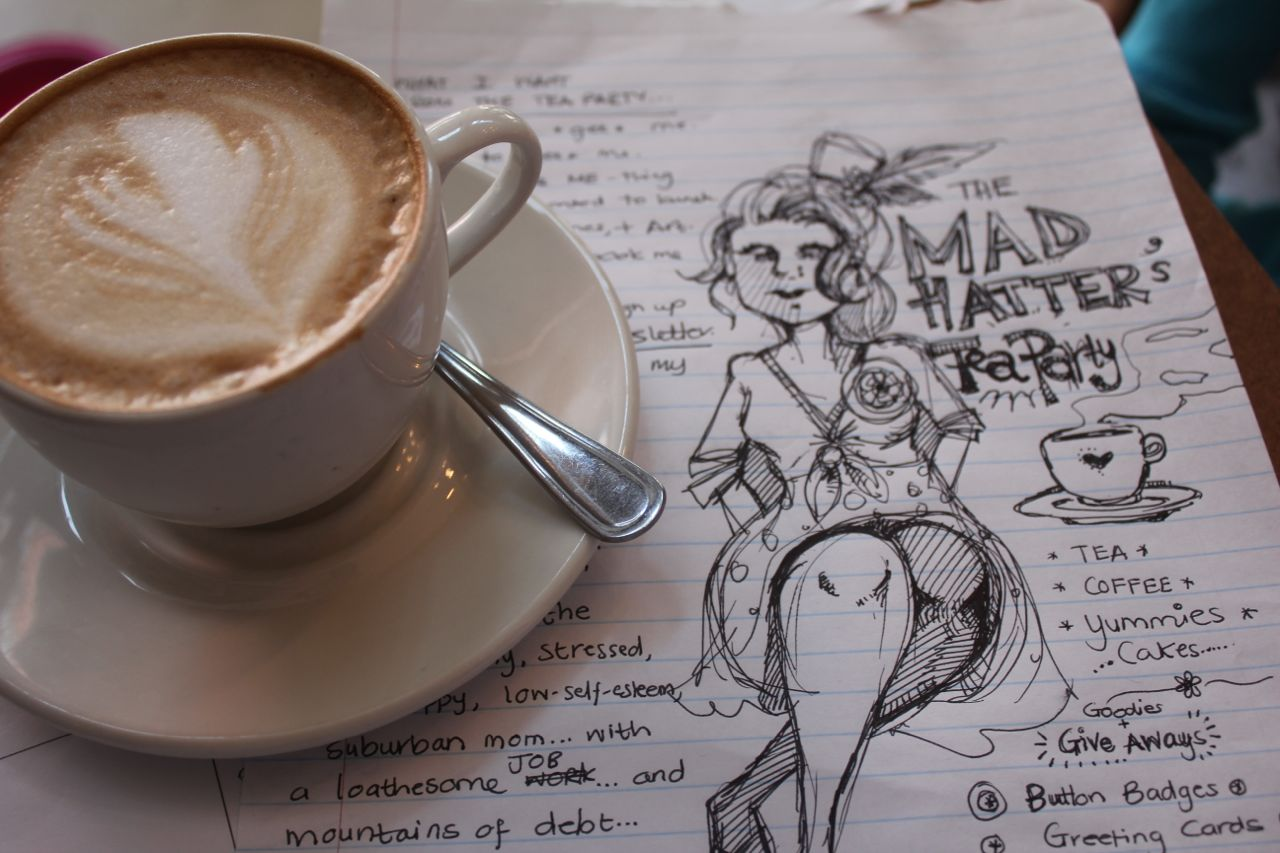 In Joburg?  Come to Mad Hatster's Coffee-Cabaret!