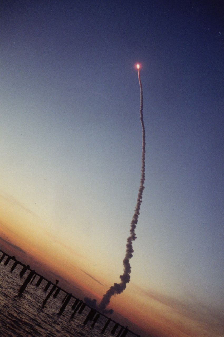 What it's like to experience a shuttle launch…